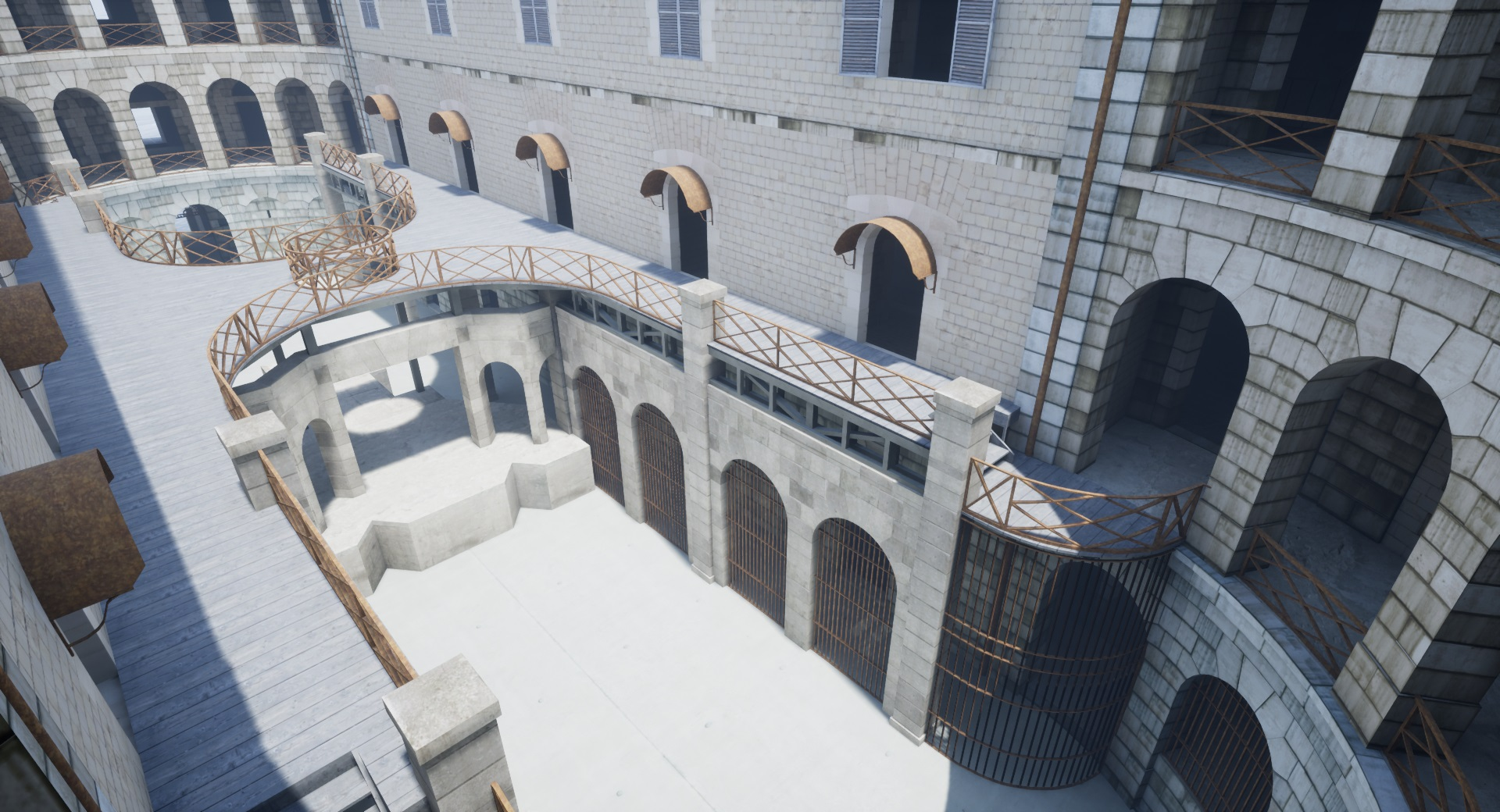 "Reproduction 3D de Fort Boyard par ""Amateur Three D"" File"